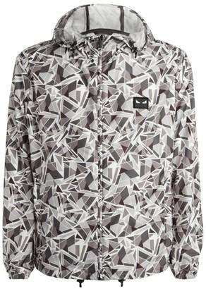 Fendi Abstract Print Windbreaker Jacket