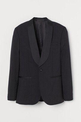 H&M Wool tuxedo jacket Slim Fit