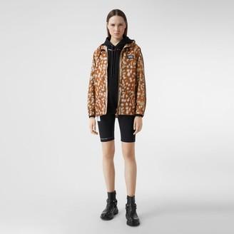 Burberry Deer Print ECONYL Hooded Jacket