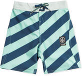 Volcom Stripey Jammer Board Shorts, Big Boys (8-20)