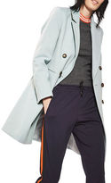 Topshop Meg Double-Breasted Crombie Coat