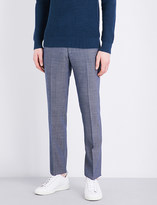 Sandro Slim-fit mid-rise wool trousers