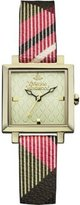 Vivienne Westwood Women's VV087GDBR Exhibitor Analog Display Swiss Quartz Multi-Color Watch