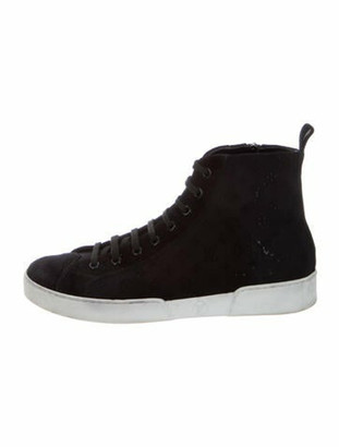 Louis Vuitton Monogram Sneakers Black