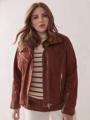 Suede Moto Jacket - Blank NYC