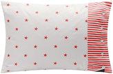 Gant Stars and Stripes Pillowcase - 50x75cm - Bright Red