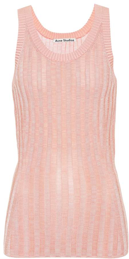 Acne Studios Ribbed tank top