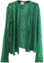Ungaro Green Silk Jacket for Women Vintage