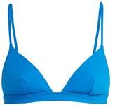 Rochelle Sara Garine Triangle Bikini Top - Womens - Light Blue