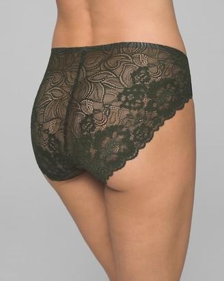 Soma Intimates Lace Back High Leg Brief