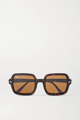 Ray-Ban Oversized Square-frame Tortoiseshell Acetate Sunglasses
