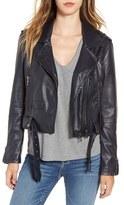 Blank NYC Women's Blanknyc Faux Leather Crop Moto Jacket
