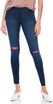 William Rast Distressed Skinny Jeans