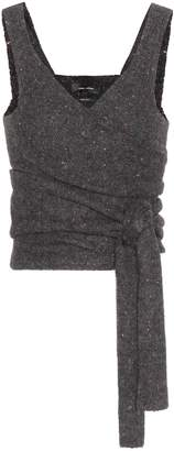 Isabel Marant Ebony alpaca-blend top