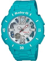 Casio Women's BGA170-2B Baby-G Shock Resistant Turquoise Resin Analog Watch