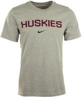 Nike Men's Connecticut Huskies Wordmark T-Shirt