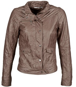 DDP GIRUP women's Leather jacket in Brown
