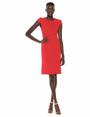 Betsey Johnson Women's Scuba Crepe Midi Dress - 2
