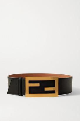 Fendi Leather Belt - Black