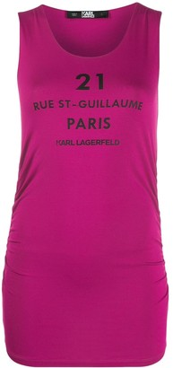 Karl Lagerfeld Paris Rue St-Guillaume tank top
