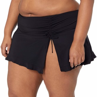 Gottex Women's Plus-Size Classic Side Tie Skirted Swimsuit Bottom