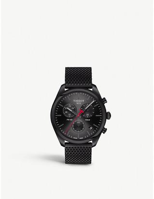 Tissot T101.417.33.051.00 PR100 stainless steel chronograph watch