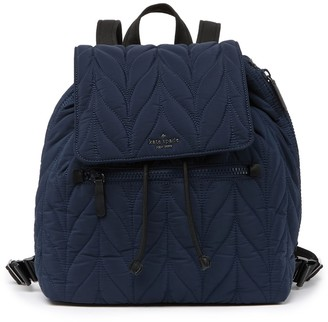 Kate Spade Ellie Large Flap Quilted Nylon Backpack