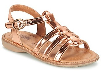 Citrouille et Compagnie GROUFLA girls's Sandals in Gold