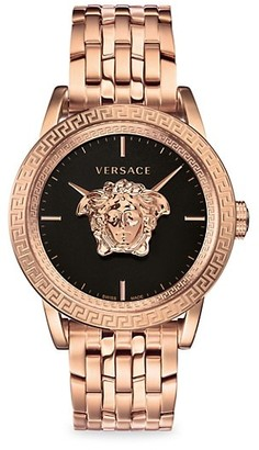 Versace Palazzo Empire IP Rose Gold Watch