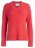 RE/DONE Women's 90s Oversized V-Neck Sweater