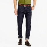 J.Crew Wallace & Barnes straight raw indigo selvedge jean