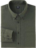 Uniqlo Men Flannel Long Sleeve Shirt