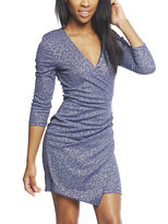 Arden B Sparkly Draped Party Dress