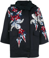 Antonio Marras embroidered floral coat - women - Cotton/Spandex/Elastane/Acetate/Viscose - 36