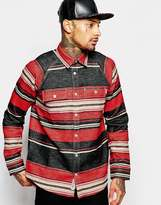 Carhartt Poncho Over Shirt - Red