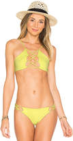 Indah Hapa Top in Yellow. - size L (also in M,S,XS)