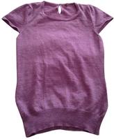 Isabel Marant Purple Wool Top