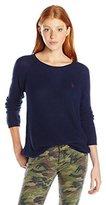 U.S. Polo Assn. Juniors V-Inset Raglan Sleeve Sweater