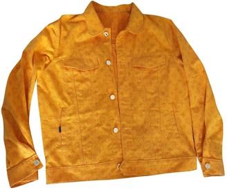 Louis Vuitton Orange Denim - Jeans Jackets