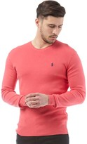 Polo Ralph Lauren Mens Slim Fit Pima Cotton Crew Neck Sweater Topic Pink