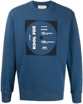 MAISON KITSUNÉ 'Kool Fox' print sweatshirt