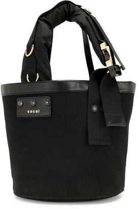 Sacai Buckled Strap Bucket Bag