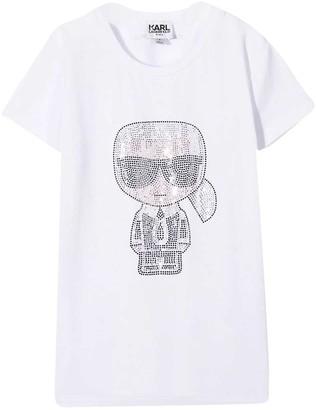 Karl Lagerfeld Paris White T-shirt By Lagerfeld Kids
