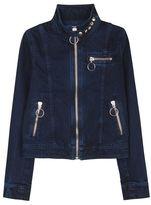 Marques Almeida High Neck Denim Jacket