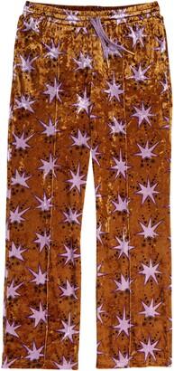 Scotch R'Belle Kids' Star Print Velour Sweatpants