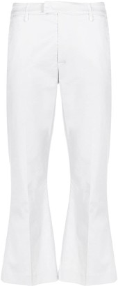 Dondup Cropped Flared-Leg Trousers
