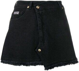 Versace Jeans Couture Denim Mini Skirt