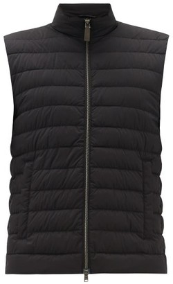 Herno Quilted Down Gilet - Black