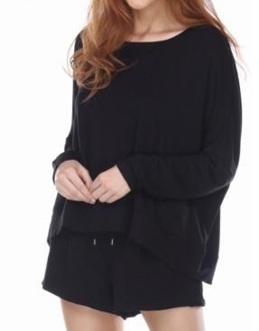 Honeydew Starlight French Terry Lounge Pajama Shirt