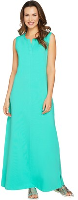Denim & Co. Regular Sleeveless Perfect Jersey Maxi Dress